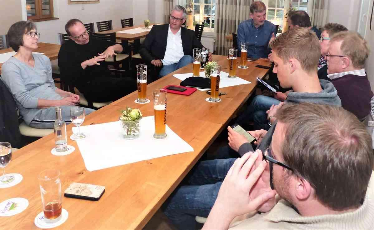 SPD meets Schmuckstück: Stammtisch im Klosterhof